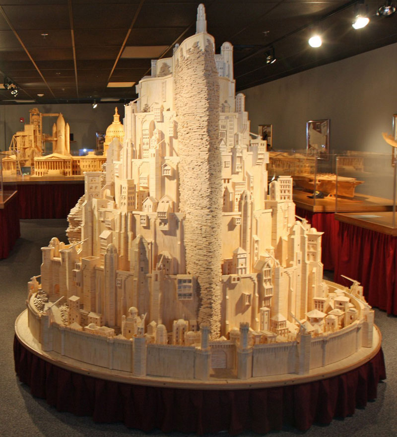 minas-tirith-made-from-matchsticks-by-pat-acton-matchstick-marvels-(7)