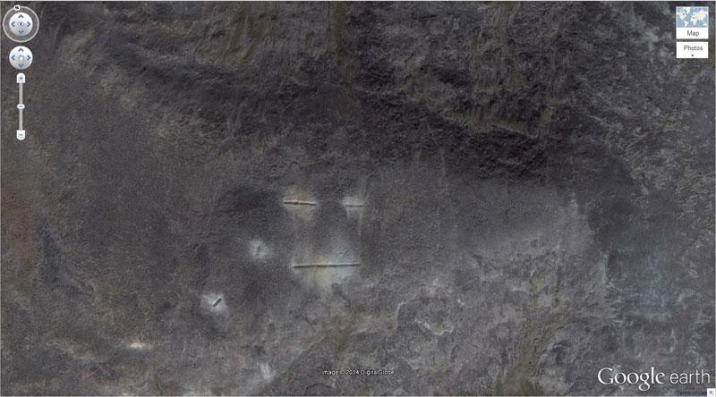 monkey-face google earth