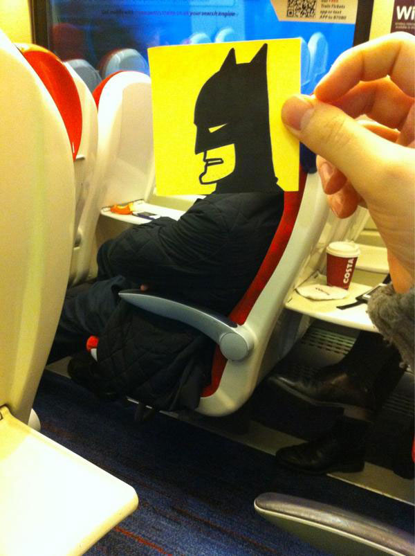october jones gives people cartoon faces on train ride to work (14)