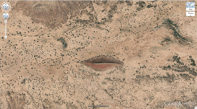 merah bibir google earth