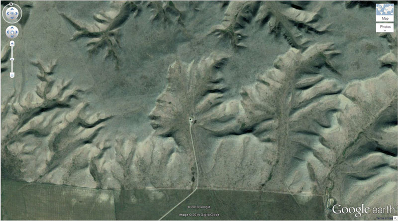 badlands guardian google earth