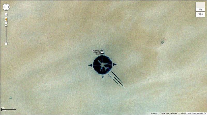 uta flight memorial 50 Amazing Finds on Google Earth