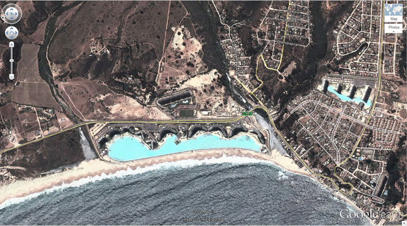 worlds biggest pool chile 50 Amazing Finds on Google Earth