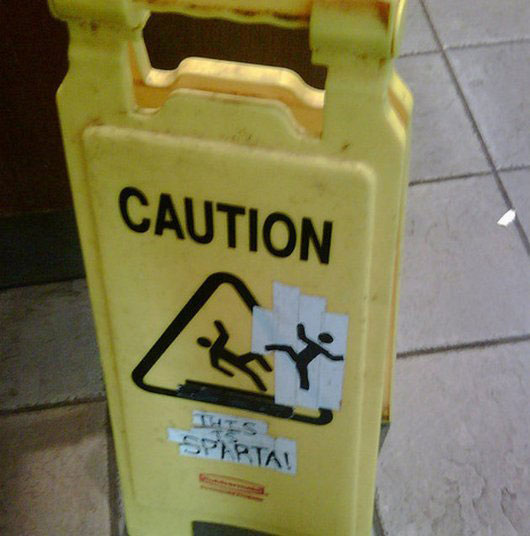 caution wet floor funny signs (2)