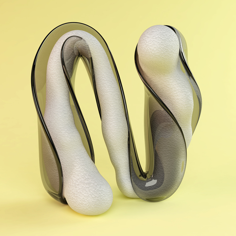 cgi sculpted alphabet by FOREAL (9)