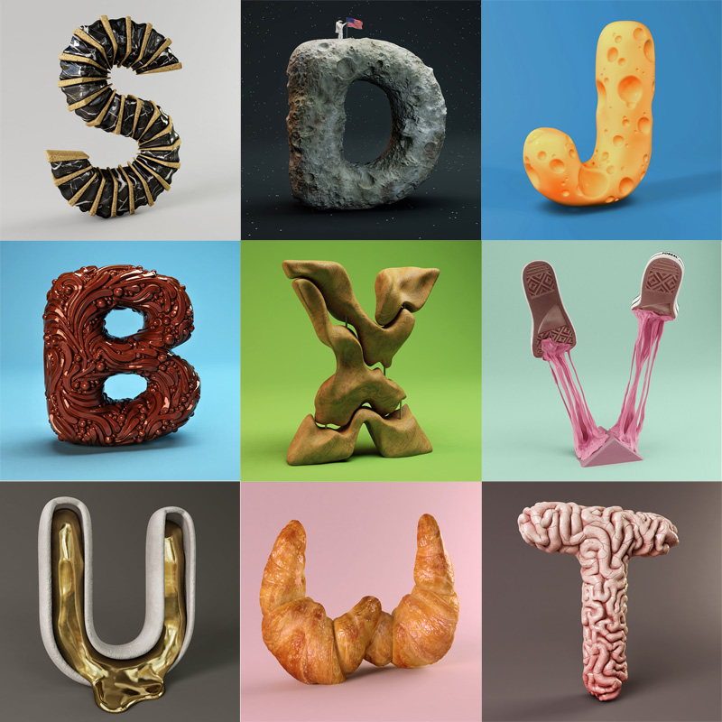 The Sculpted Alphabet By Foreal 171 Twistedsifter