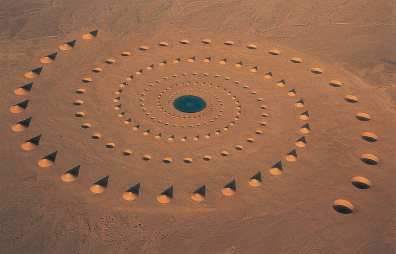 desert breath land art installation sahara egypt crop circle dast arteam (4)