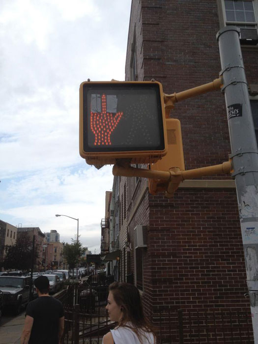 do not cross middle finger sign funny