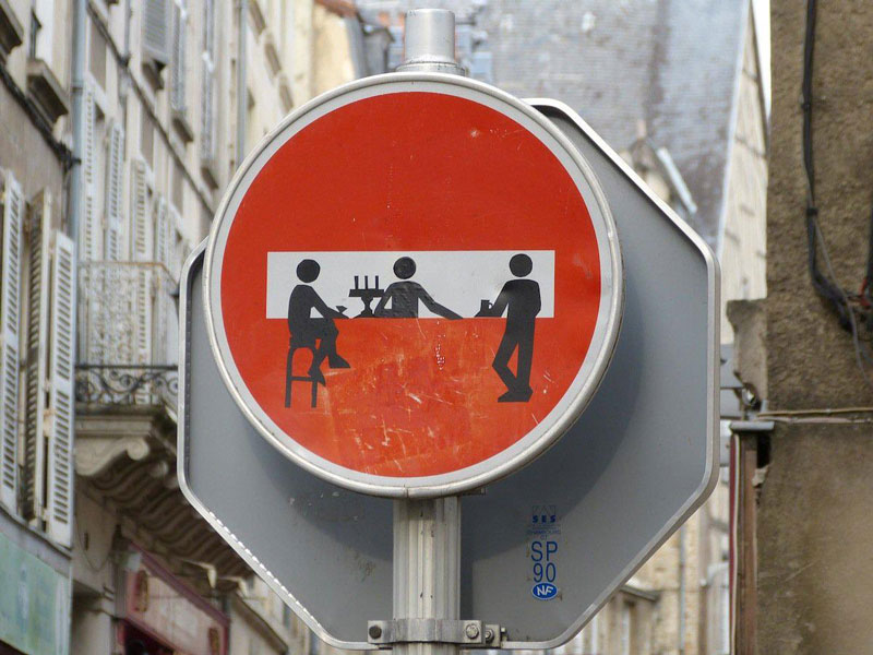 do not enter street sign art by clet (1)