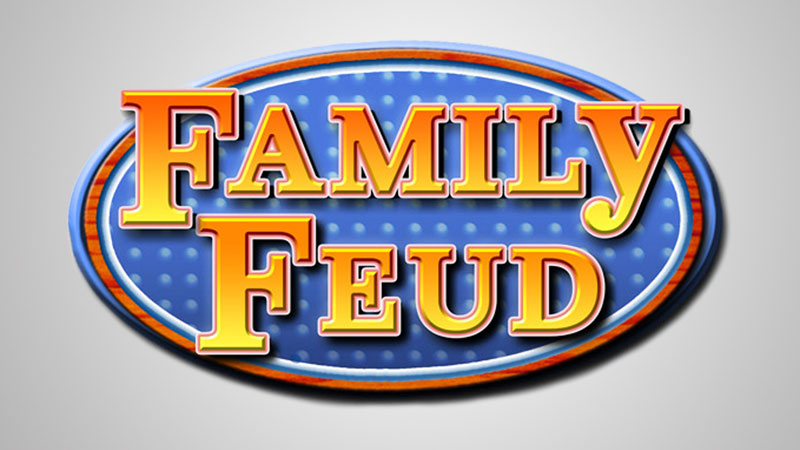 family feud logo 5 Epic Moments in Game Show History