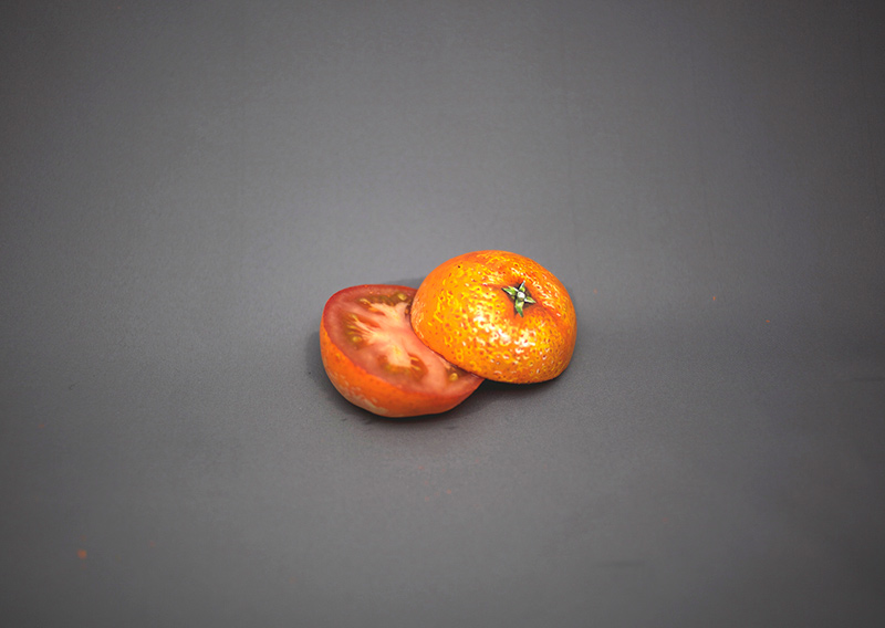 foods painted to look like other foods by hikaru cho  (4)