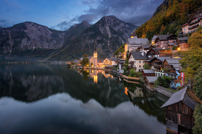 hallstatt village austria unesco world heritage site The Sifters Top 75 Pictures of the Day for 2014