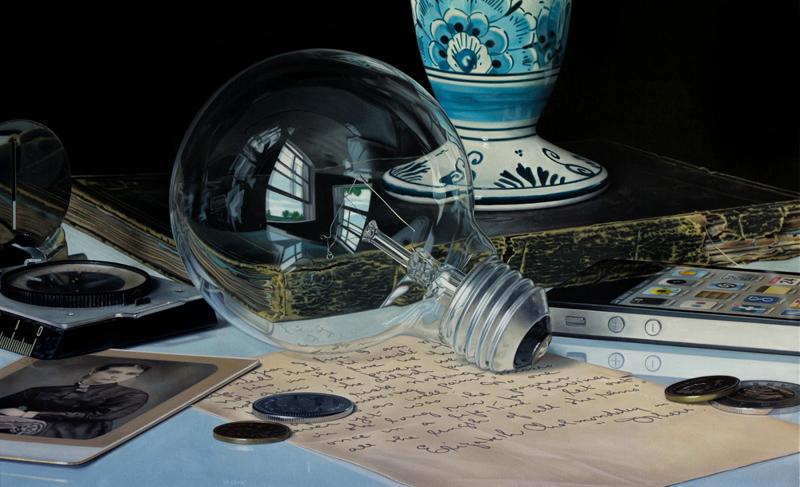 Hyperrealistic Still Life Paintings by Jason deGraaf