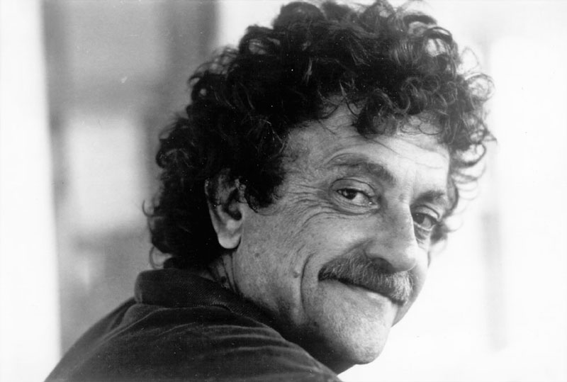 kurt vonnegut black and white portrait Teacher Asks Students to Write Haikus, This Kid Wins