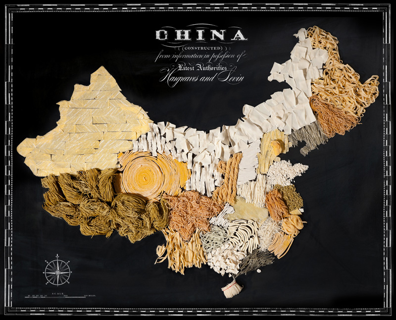 Map of China Made from Regional Foods by caitlin levin and henry hargreaces (1)