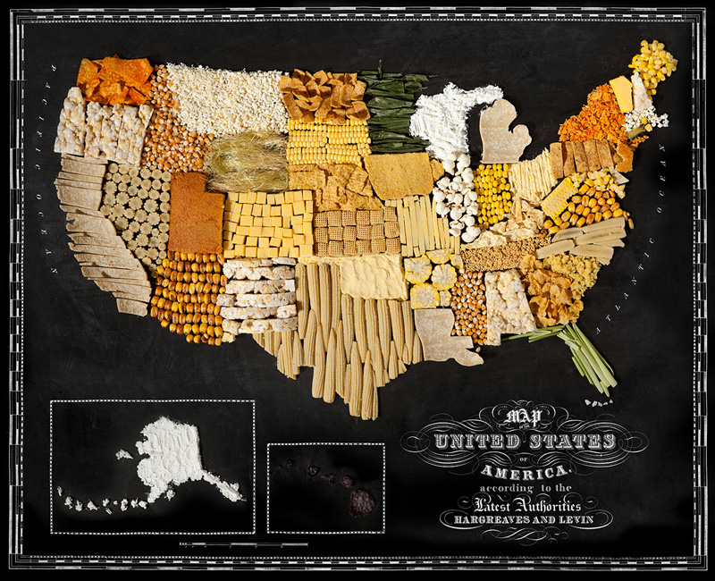 Map of United States Made from Regional Foods by caitlin levin and henry hargreaces (5)