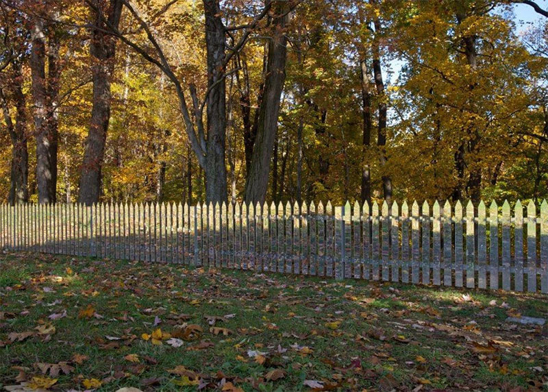 A Mirrored Fence that Changes with the Seasons TwistedSifter