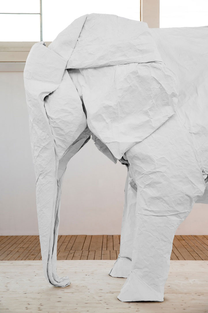 sipho-mabona-folds-a-life-sized-origami-white-elephant-from-a-single-sheet-of-paper-(11)