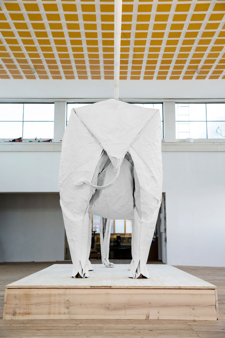 sipho-mabona-folds-a-life-sized-origami-white-elephant-from-a-single-sheet-of-paper-(12)
