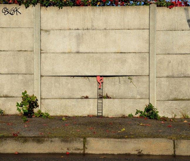 arte de la calle por el roble roble (1)