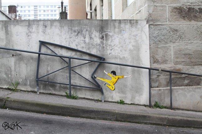 arte de la calle por el roble encino (14)