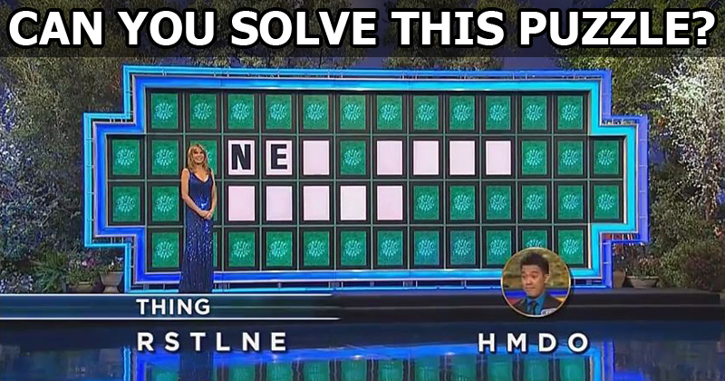 Guy Solves Impossible Wheel of Fortune Puzzle in One Guess. Wins$45K