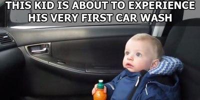 Baby's First CarWash