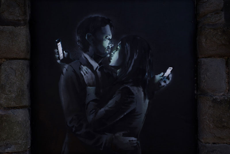 Banksy Unveils Two New Artworks