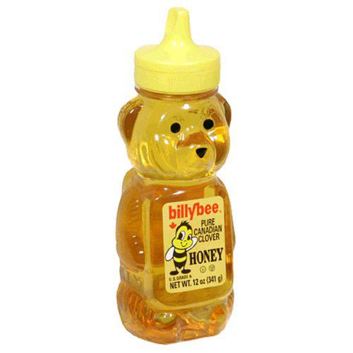 billbee honey bottle shaped like a bear
