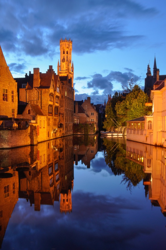 Picture of the Day: Blue Hour inBruges