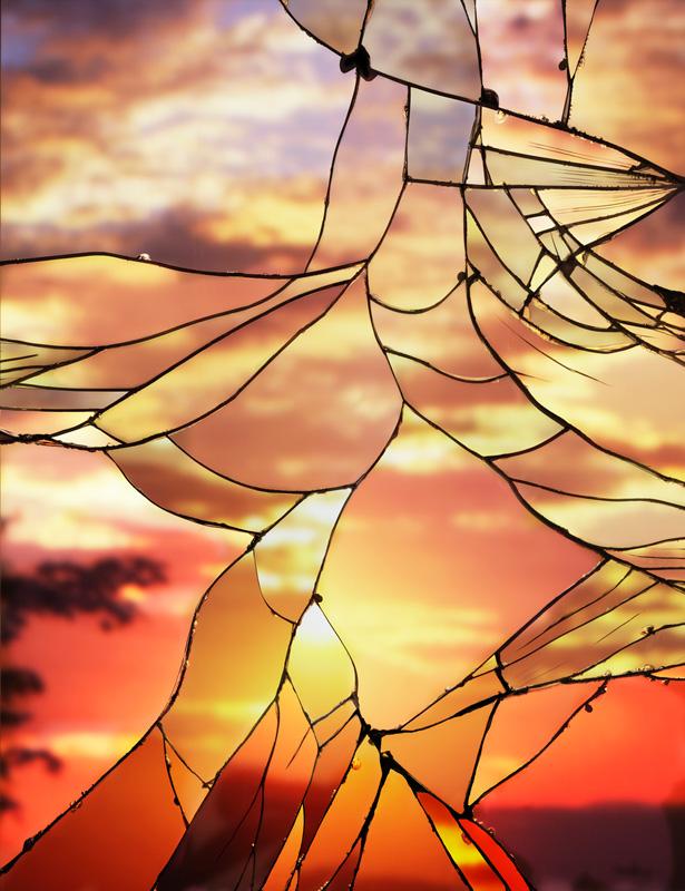 Broken-MIrror_Evening-Sky(EKtar) by bing wright