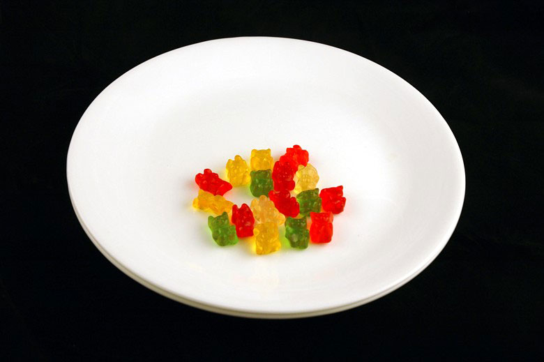 calories in gummy bears This is What 200 Calories of Various Everyday Foods Looks Like