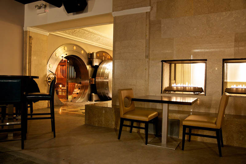a reclaimed bank and a vip vault room the bedford chicago united sates chicago supper club restaurant