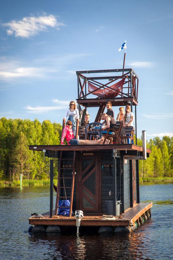 diy sauna raft (4)