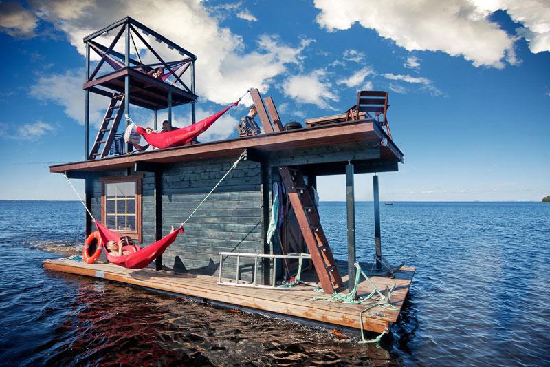 diy sauna raft (5)