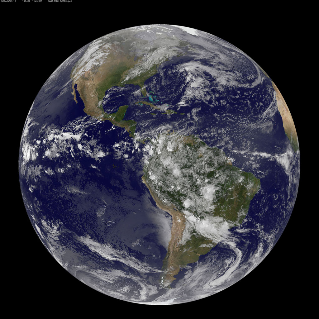 Picture of the Day: A Satellite View of Earth on EarthDay