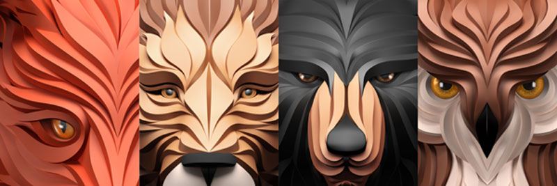 geometric predators by maxim shkret (6)
