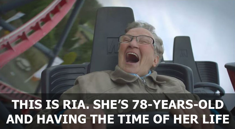 The Happiest Roller Coaster RideEver