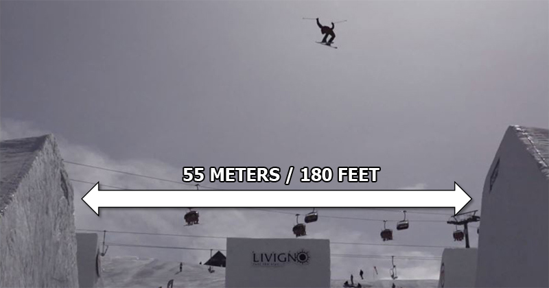 Jesper Tjader Double Backflips Over 180 ft Wide Halfpipe