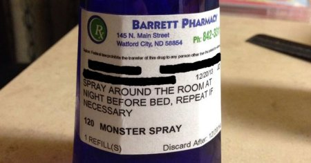 Pharmacy Prescribes Monster Spray to Little Girl Scared of the Dark (2)