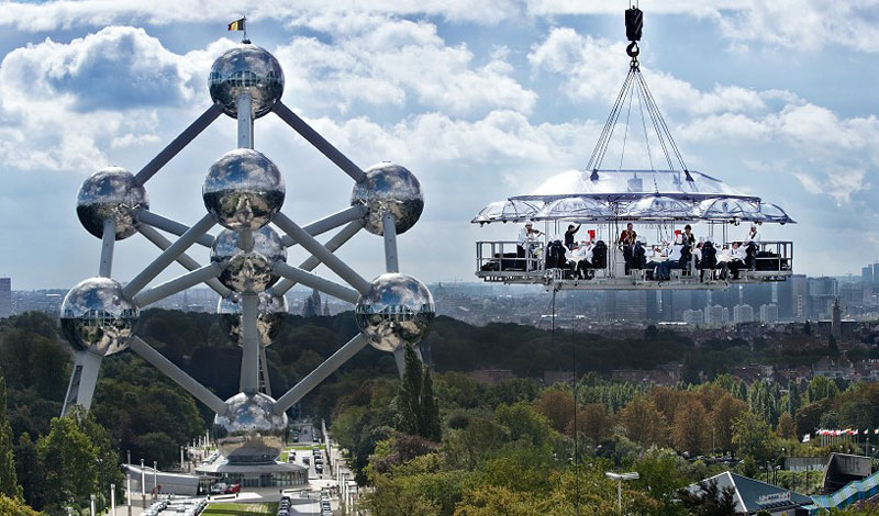 Restaurants In Unforgettable Settings TwistedSifter - Dinner in the sky an unforgettable experience