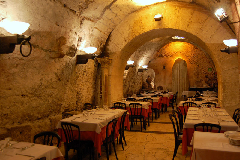 Restaurants In Unforgettable Settings TwistedSifter - Restaurant built inside a cave in italy offers beautiful views as you dine