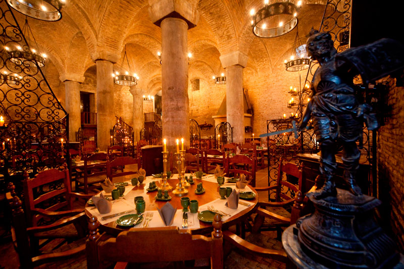 sarnic_restaurant inside a cistern istanbul turkey