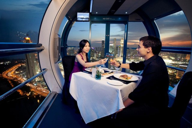 singapore flyer private dining