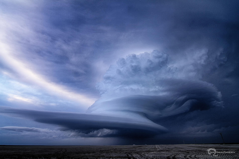 supercell-thunderstorm ovid colorado by ryan shepard