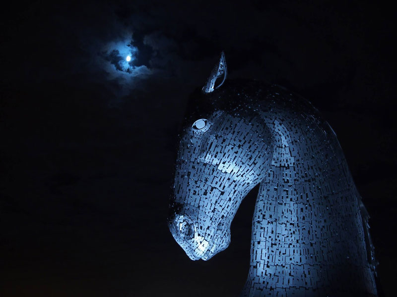 the kelpies giant horse-head sculptures the helix, scotland by andy scott (10)