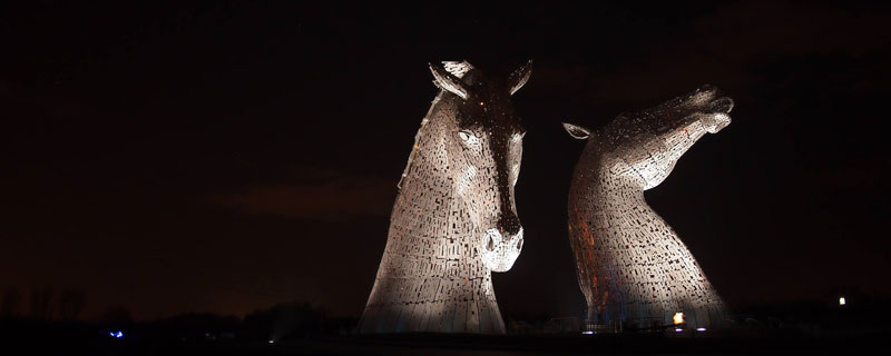 the kelpies giant horse-head sculptures the helix, scotland by andy scott (3)