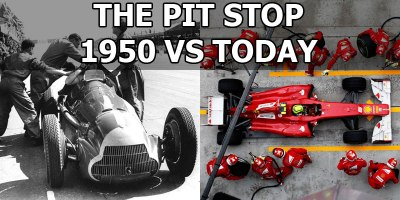 The Pit Stop: 1950 vs Today