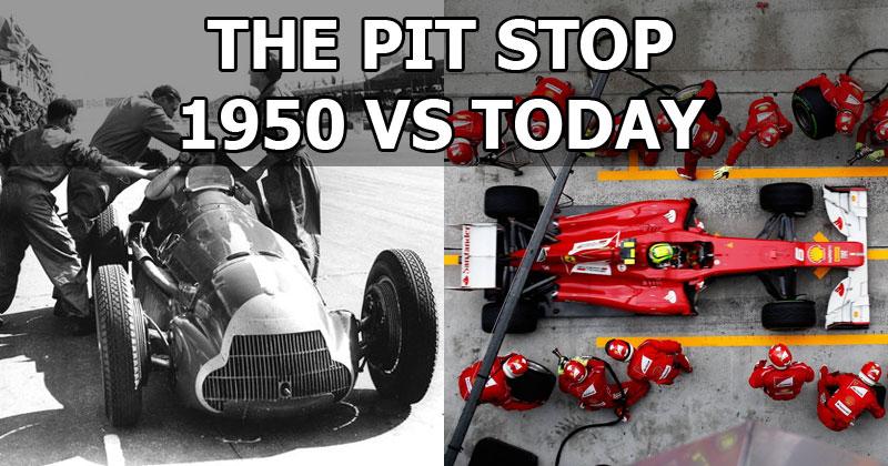The Pit Stop: 1950 vsToday