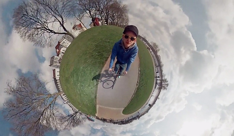 You Know Those 'Tiny Planet' Photos? This Guy Made a VideoVersion